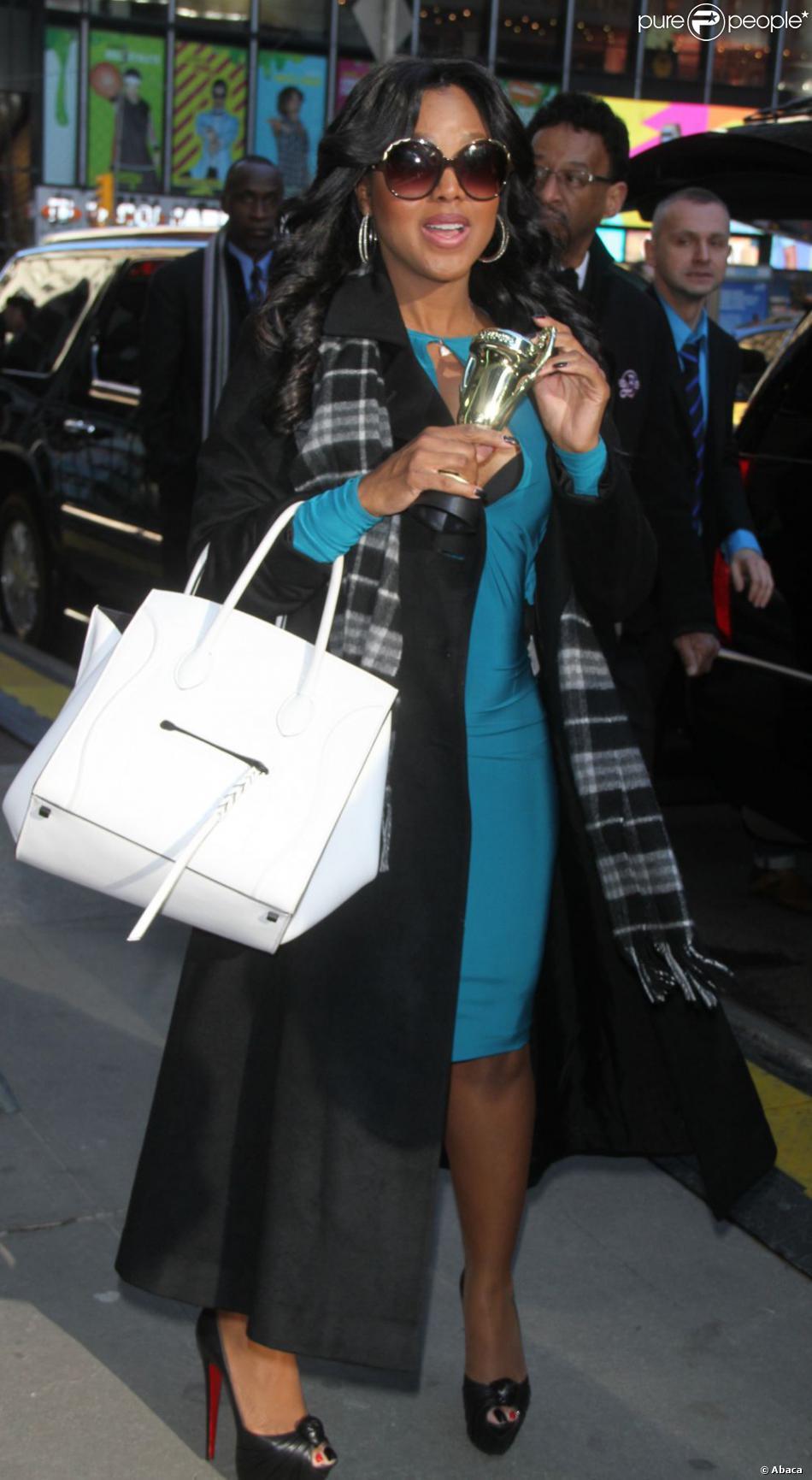Trina Braxton, Traci Braxton, Toni Braxton et Towanda Braxton à New York le 13 mars 2013.