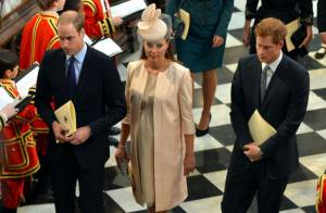 Elizabeth II fêtée : Kate Middleton enceinte et la famille royale à Westminster