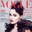 Helena Bonham Carter en couverture du magazine Vogue, édition UK - juillet 2013