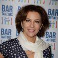 Corinne Touzet à la soirée d'inauguration du Bar à Tartines Philadelphia, à Paris, le 4 juin 2013