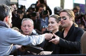 Brad Pitt et Angelina Jolie : Leur voyage à Londres et Paris pour World War Z