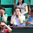 Thierry Frémont à Roland-Garros lors du 12e jour des Internationaux de France le 6 juin 2013