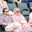 Valérie Damidot à Roland-Garros lors du 12e jour des Internationaux de France le 6 juin 2013