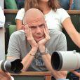 Laurent Weil à Roland-Garros lors du 12e jour des Internationaux de France le 6 juin 2013