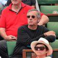Dominique Chapatte à Roland-Garros lors du 12e jour des Internationaux de France le 6 juin 2013