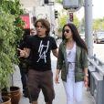 Prince Michael Jackson et sa petite-amie Remi Alfalah à Los Angeles, le 17 mai 2013.