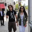 Prince Michael Jackson et sa petite-amie Remi Alfalah dans les rues de Los Angeles, le 17 mai 2013.