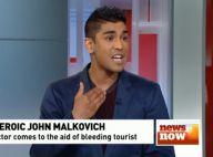 John Malkovich, ce héros : Il sauve la vie d'un homme en pleine rue !