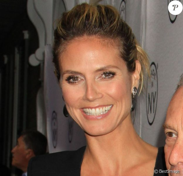 "Heidi Klum et Michael Bloomberg aux Awards ""Made In NY"" à New York, le 10 juin 2013."