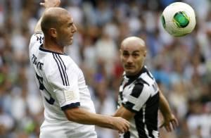 Zinédine Zidane : Avec un Real de gala, il régale toujours le public à 40 ans