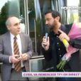 Cyril Hanouna, totalement fou, décide d'aller à TF1 remercier la chaîne dans Touche pas à mon poste, lundi 10 juin 2013 sur D8