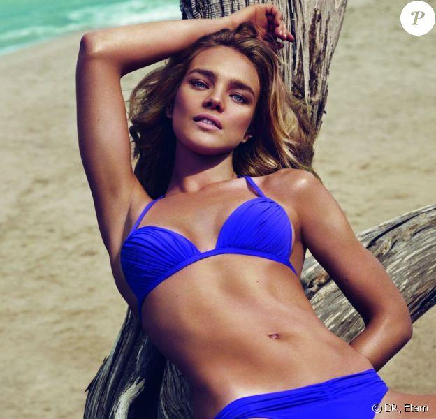 Natalia Vodianova, ravissante en bikini pour Etam.