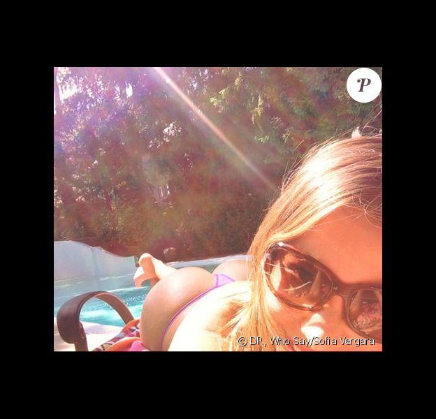 Sofia Vergara s'expose en string sur le site Who Say, le 15 juin 2013.
