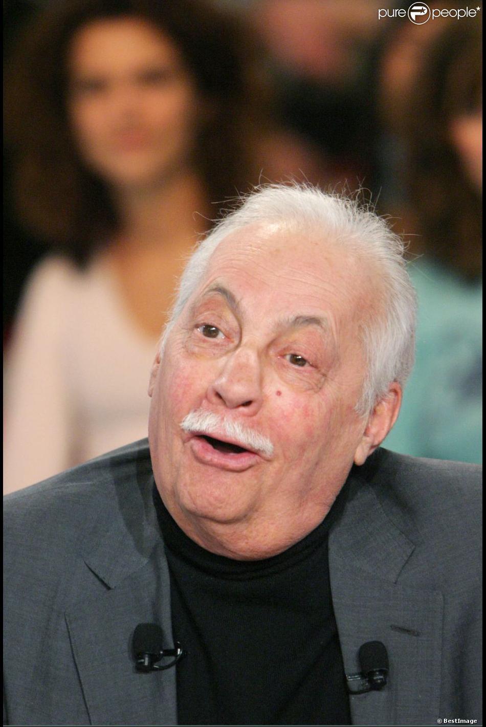 Michel Sarrault lors de Vivement dimanche le 6 janvier 2004.