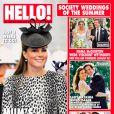Magazine HELLO ! du 24 juin 2013.