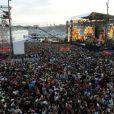 Fête de la musique sur France 2 eten direct de Marseillele 21 juin 2013.