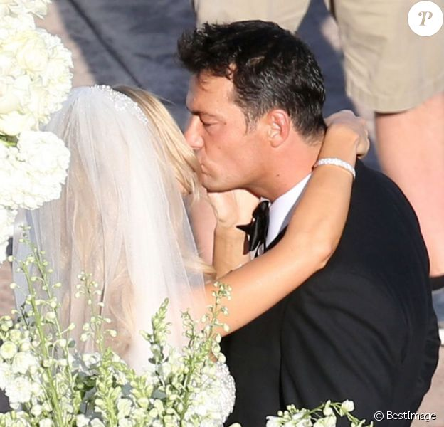 Exclusif - Joanna Krupa et Romain Zago se marient à l'hôtel Park Hyatt Aviara. Carlsbad, le 13 juin 2013.