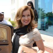 Valérie Trierweiler : Souriante et solidaire pour les enfants du Qatar