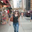 Carla Bruni dans les rues de New York, le 25 juin 2013.