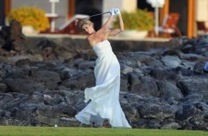 Anna Rawson : Partie de golf en plein mariage pour la sublime joueuse