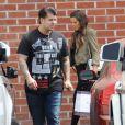 Exclusif - Rob et Khloé Kardashian à Los Angeles, le 24 Juin 2013.