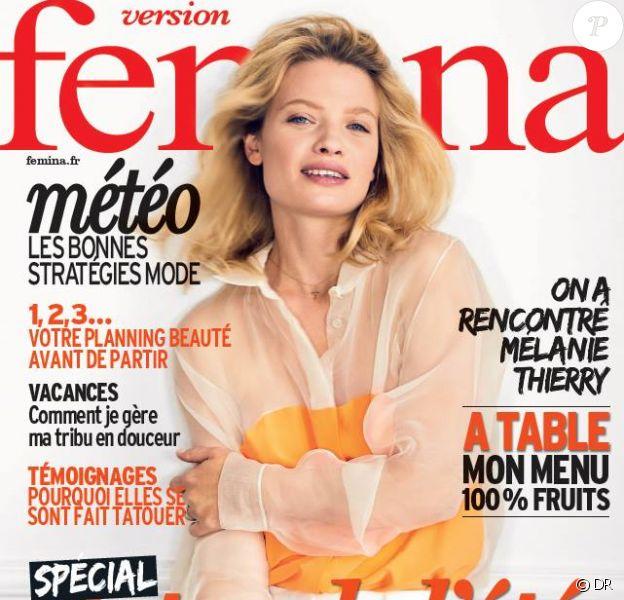 Mélanie Thierry en couverture de Version Femina.