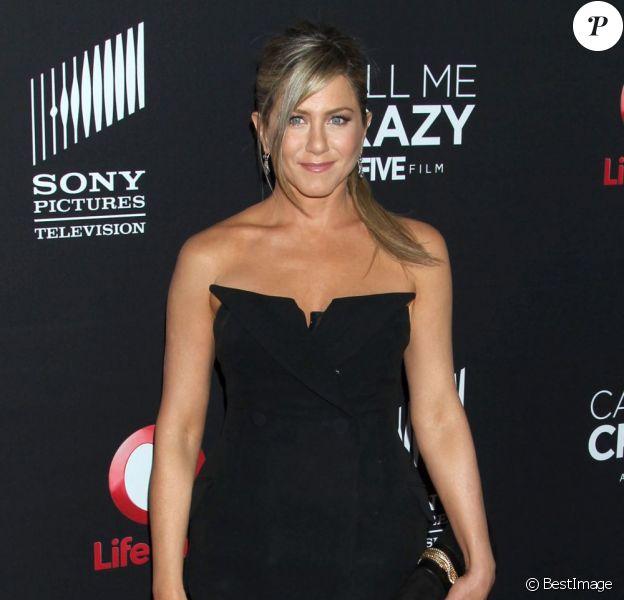 Jennifer Aniston à West Hollywood, le 16 avril 2013.