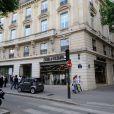 Exclusif - Inauguration de la boutique Zadig & Voltaire au Rond Point Champs-Élysées Marcel Dassault. Paris, le 1er juillet 2013.