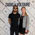 Karim des BB Brunes à la soirée Zadig & Voltaire à Paris le 1er juillet 2013