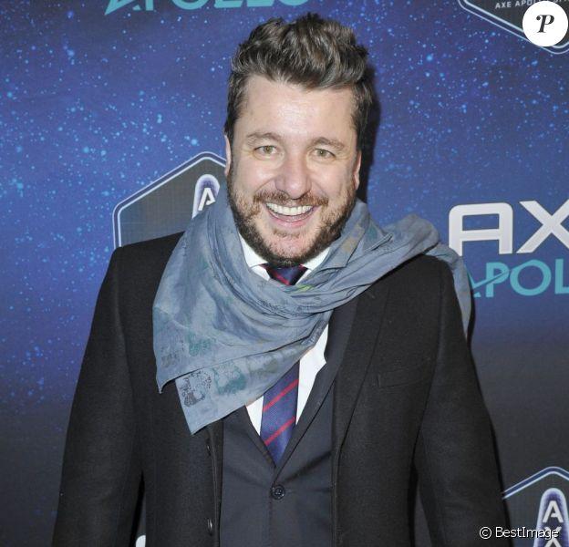L'animateur Bruno Guillon à la soirée des 30 ans de Axe, à l'Atelier Basfroi, à Paris, le 10 janvier 2013.