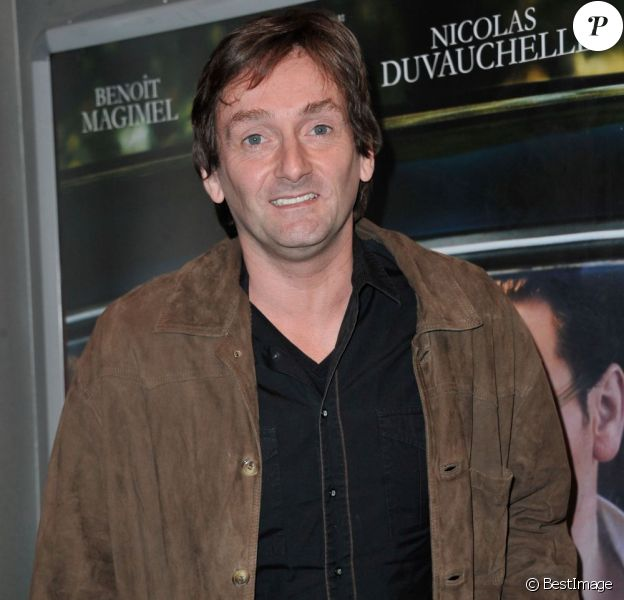 """Pierre Palmade à la première du film """"Pour une Femme"""" au cinéma Publicis des Champs-Elysees à Paris, le 24 juin 2013."""