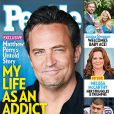 Matthew Perry en couverture de People