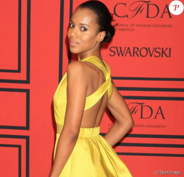 Kerry Washington à la soirée CFDA Fashion Awards, à New York, le 2 Juin 2013.