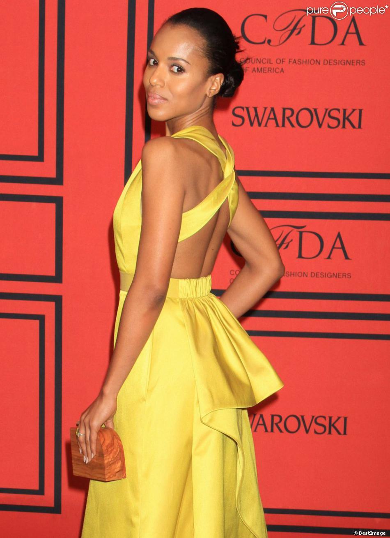 Kerry Washington à la soirée CFDA Fashion Awards, à New York, le 2 Juin 2013.