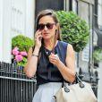 Pippa Middleton dans les rues de Londres, le 27 juin 2013.