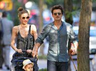 Miranda Kerr et Orlando Bloom amoureux : Balade ensoleillée avec le petit Flynn