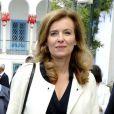 Valérie Trierweiler lors d'un voyage officiel en Tunisie le vendredi 5 juillet 2013.