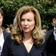 François Hollande et sa compagne Valérie Trierweiler lors d'un voyage officiel en Tunisie le vendredi 5 juillet 2013.