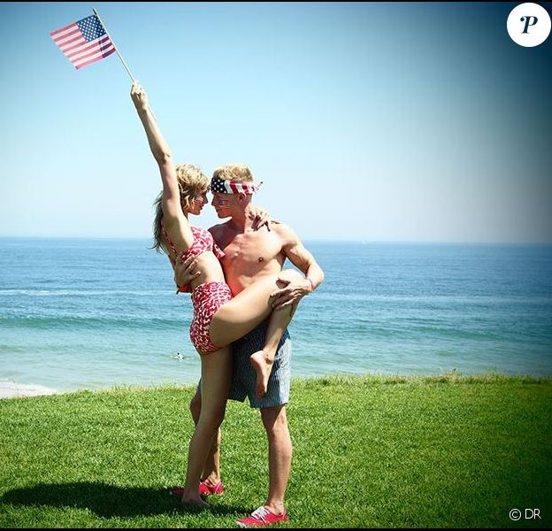 Taylor célèbre le 4 juillet en bonne compagnie.