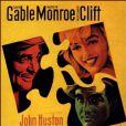 Clark Gable: affiche des Misfits