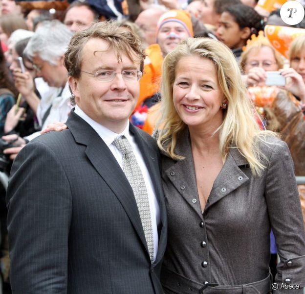 Le prince Friso et la princesse Mabel d'Orange-Nassau lors de la Fête de la reine le 30 avril 2010
