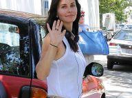 Courteney Cox : Son ex David Arquette vient la soutenir pour son premier film