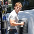 Seann William Scott sur le tournage du film Hello, I Must Be Going, à Los Angeles, le 9 juillet 2013.
