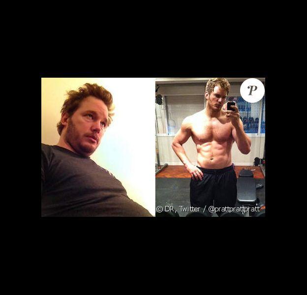 Chris Pratt : avant... et après !