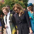 Valérie Trierweiler et Mary Robinson (envoyée spéciale des Nations Unies) à Bujumbura au Burundi le 9 juillet 2013.