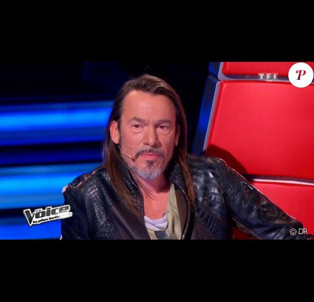 Florent Pagny, juré de l'émission The Voice sur TF1