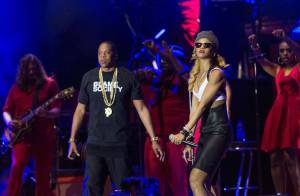 Rihanna et Jay-Z : Un duo complice et étincelant devant Justin Timberlake !