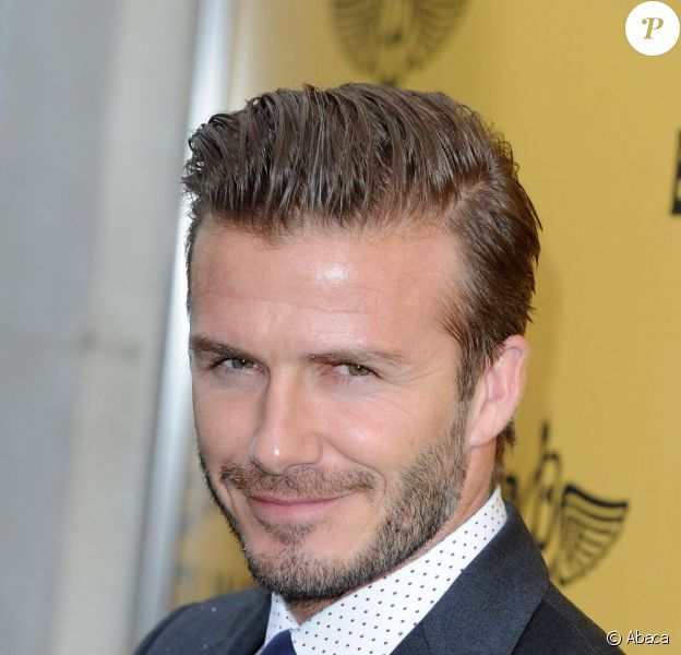 David Beckham lors de l'ouverture d'une nouvelle boutique Breitling à New Bond Street à Londres le 27 juin 2013