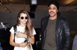 Lionel Richie : Complice avec son adorable fille Sofia, il l'emmène à Londres