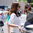 Jennifer Garner photographiée par les paparazzi à Encino, Californie, le 16 juillet 2013.